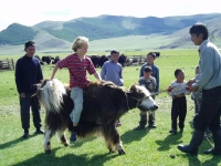 GER to GER Mongolia - Have kids? They love the outdoor adventures!