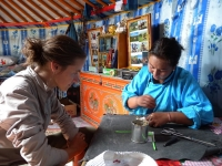 GER to GER Mongolia - The Art of Sewing Mongolian Garments