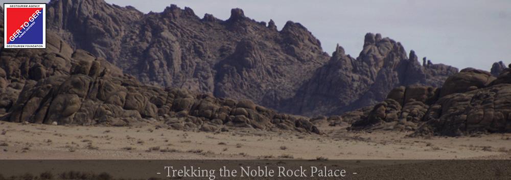 GER to GER Mongolia - Trekking the Noble Rock Desert Palace