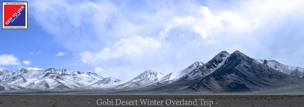 GER to GER Mongolia - Gobi Desert Winter Overland Trip