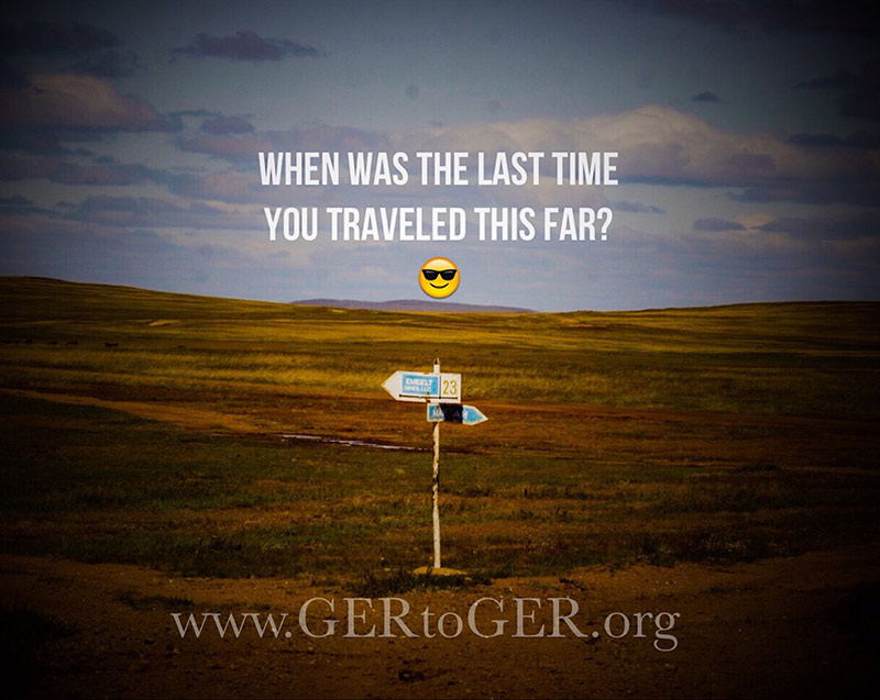 GER to GER - Overland Expeditions and Trips
