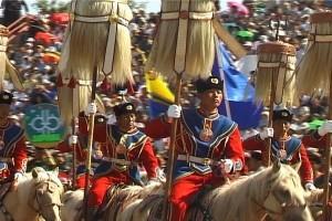 GER to GER GEOtourism Mongolia - Naadam