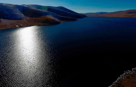 GER to GER GEOtourism Mongolia - Blue Mountain Lake Trekking