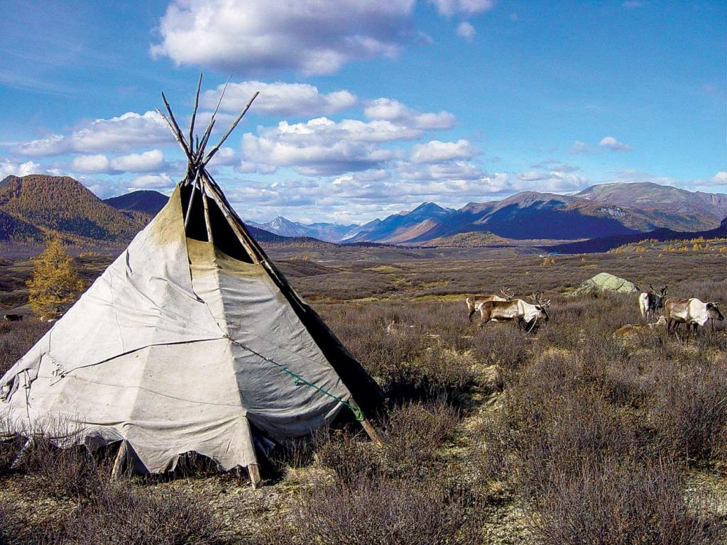 GER to GER GEOtourism Mongolia - Northern Mongolia Khuvsgul Tsaatan Reindeer Tribes