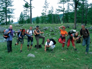 GER to GER GEOtourism Mongolia - Blue Mountain Lake Trek