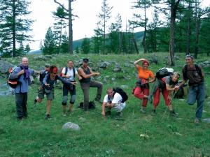 GER to GER GEOtourism Mongolia - Blue Mountain Lake Trek