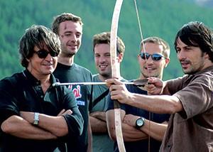 GER to GER GEOtourism Mongolia - Mongolian Archery - Naadam