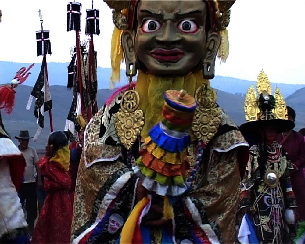 GER to GER GEOtourism Mongolia - Buddhist Naadam Festival and Tsam Performance